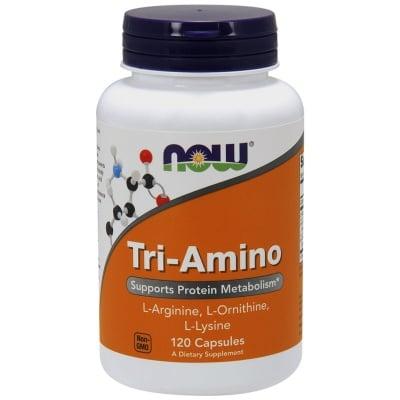 НАУ ФУДС ТРИ - АМИНО АРГИНИН / ОРНИТИН / ЛИЗИН капс. 775 мг. * 120