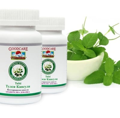 ТУЛСИ - облекчава симптоми на алергии, подпомага защитните сили на тялото -  капсули х 60 бр., GOODCARE PHARMA