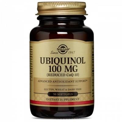 УБИКВИНОЛ меки капс. 100 мг. * 50 СОЛГАР