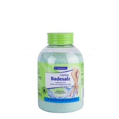 Соли за уморени крака - дълготрайна защита срещу неприятни миризми - 600гр., Vitawohl