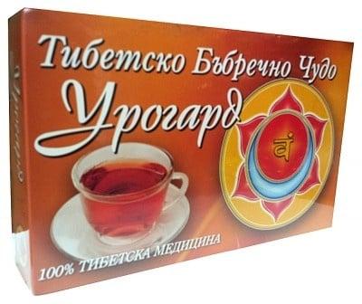БИЛКОВ ЧАЙ УРОГАРД ТИБЕТСКО БЪБРЕЧНО ЧУДО - х 100 броя пакетчета с филтър, ТИБЕТМЕД