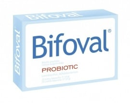 БИФОВАЛ - подсилва имунитета, облекчава подуването на корема - табл. x 20