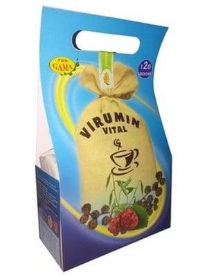 ВИРУМИН ВИТАЛ ФИЛТЪР - укрепва имунитета по естествен начин и заздравява опорно-двигателната система - филтърни пакетчета х 120, P.W.M. GAMA