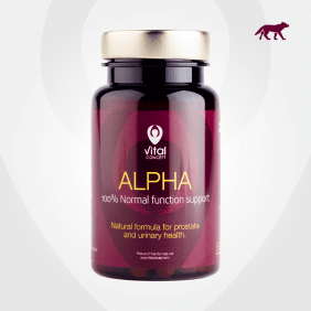 АЛФА - за здравето на простатата - капсули x 60, VITAL CONCEPT