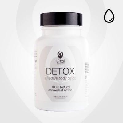 ДЕТОКС - за ефективна детоксикация на организма - капсули х 60, VITAL CONCEPT