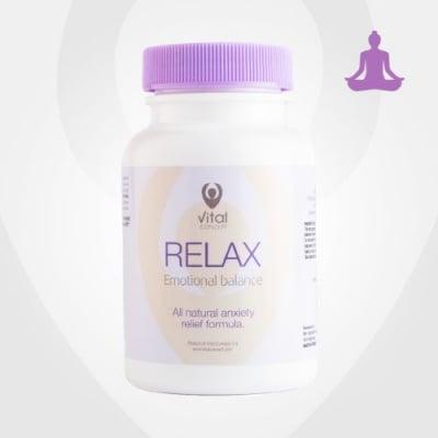 РЕЛАКС - за емоционално равновесие без стрес - капсули - капсули х 60, VITAL CONCEPT