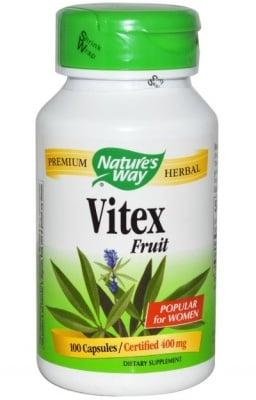 ВИТЕКС - традиционна билка за жени - капсули 400 мг. х 100, NATURE'S WAY