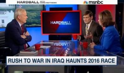 Един от шефовете на ЦРУ по времето на Буш призна в ефир, че причините за започването на войната с Ирак са лъжа