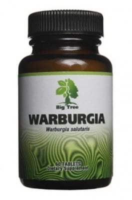 ВАРБУРГИЯ - за лечение на бактерии, гъбички и полово предавани болести - таблетки х 60, BIG TREE