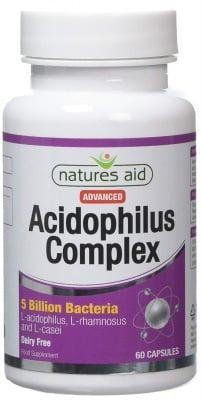 АЦИДОФИЛУС КОМПЛЕКС - защита от микроорганизми и бактерии * 60 капсули