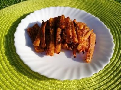 Здравословен чипс от моркови