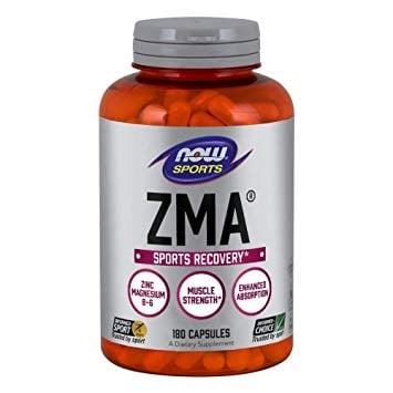 ЗМА 800 мг. увеличава нивото на тестостерона с до 30% * 180капсули, НАУ ФУДС