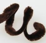 Пръчка телена с четири релефа x6 см кафява -30 см -10 броя