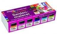 Комплект рисуване върху коприна SILK JAVANA, TREND colors, 9 ч.