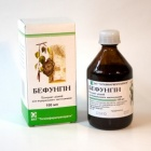 БЕФУНГИН - Регулира метаболитните процеси, нормализира функцията на червата и стомаха - тинктура х 100 мл.