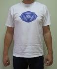 ШЕСТА ЧАКРА (АДЖНА) – тениска – бяла, унисекс