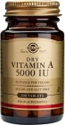 ВИТАМИН А - подобрява зрението и засилва имунитета - таблетки 5000 IU х 100, SOLGAR