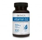 ВИТАМИН В2 - увеличава производството на енергия -  таблетки 100 мг. х 100, BIOVEA