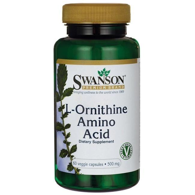 L-ОРНИТИН 500 мг. * 60капсули, СУОНСЪН