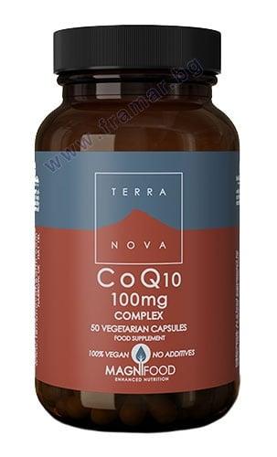 ТЕРАНОВА КОЕНЗИМ Q10 КОМПЛЕКС капсули 100 мг * 50