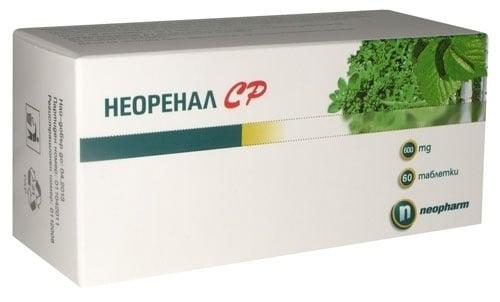 НЕОРЕНАЛ SR таблетки  600 мг. * 60