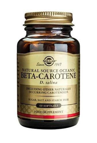 СОЛГАР БЕТА КАРОТИН меки капсули 7 мг. * 60