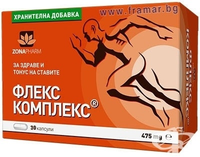ФЛЕКС КОМПЛЕКС капсули 475 мг * 30 ЗОНАФАРМ