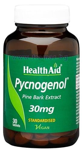 ПИКНОГЕНОЛ ЕКСТРАКТ таблетки 30 мг. * 30 ХЕЛТ ЕЙД