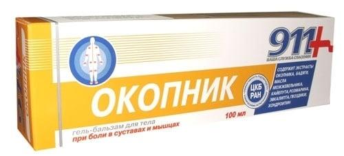 ОКОПНИК гел - балсам 100 мл