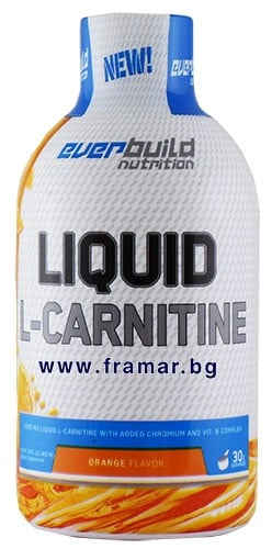 L - КАРНИТИН ТЕЧЕН 1500 мг + ХРОМ с вкус на портокал 450 мл