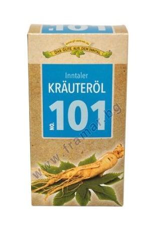 МАСЛО СЪС 101 БИЛКИ KRAUTEROL 100 мл INNTALER NATURPRODUKTE