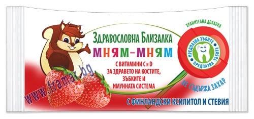 МНЯМ-МНЯМ БЛИЗАЛКА ЯГОДА * 1 бр.