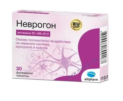 НЕВРОГОН филмирани таблетки * 30