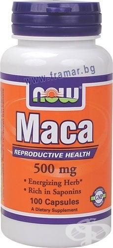 НАУ ФУДС МАКА капс. 500 мг. * 100