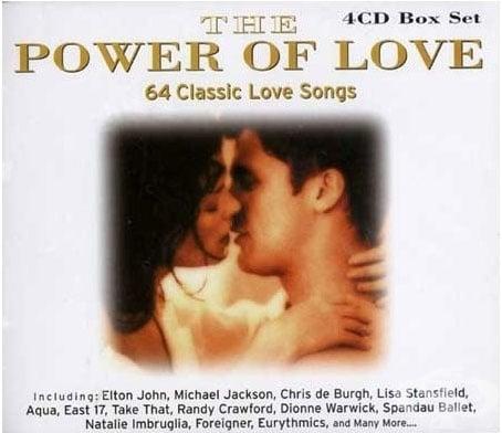 POWER OF LOVE - Музикална колекция с любовни песни *4 компактдиска
