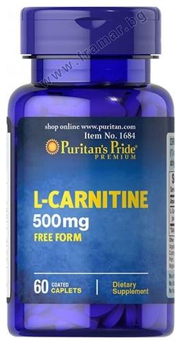 L - КАРНИТИН 500 мг * 60 каплети