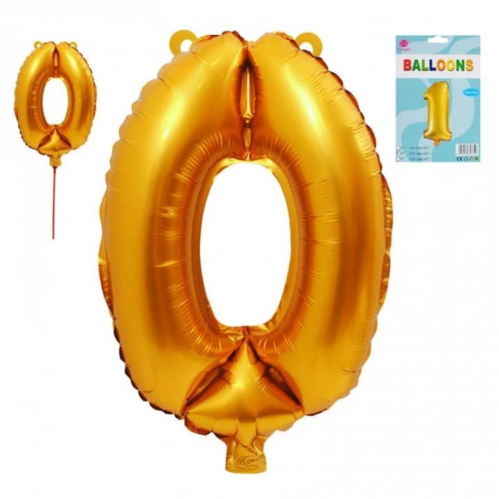 Балони - Цифри /фолио/ Балон - Цифра 0
