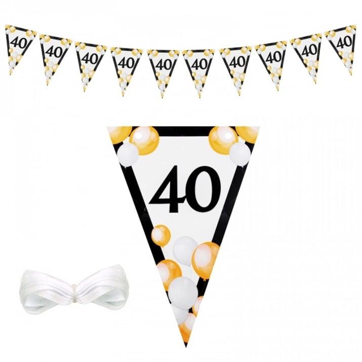 """Парти украса """"40"""" /винил/"""