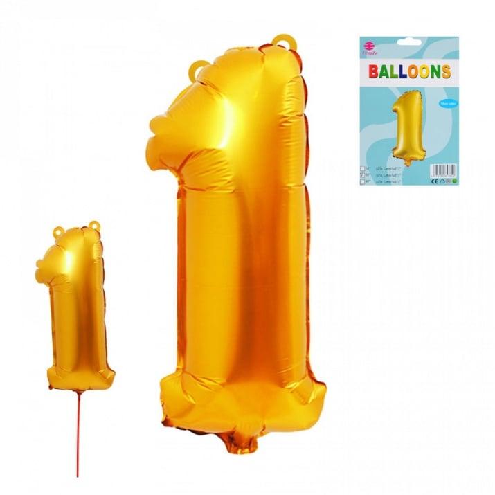 Балони - Цифри /фолио/ Балон - Цифра 1