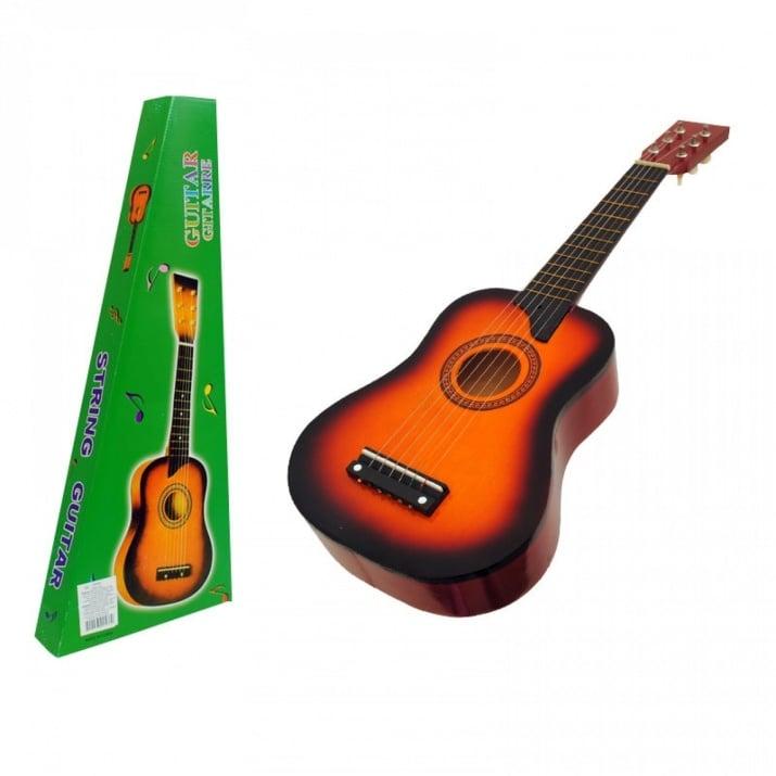 Китара с метални струни /дърво/ Китара с метални струни /оранжев/