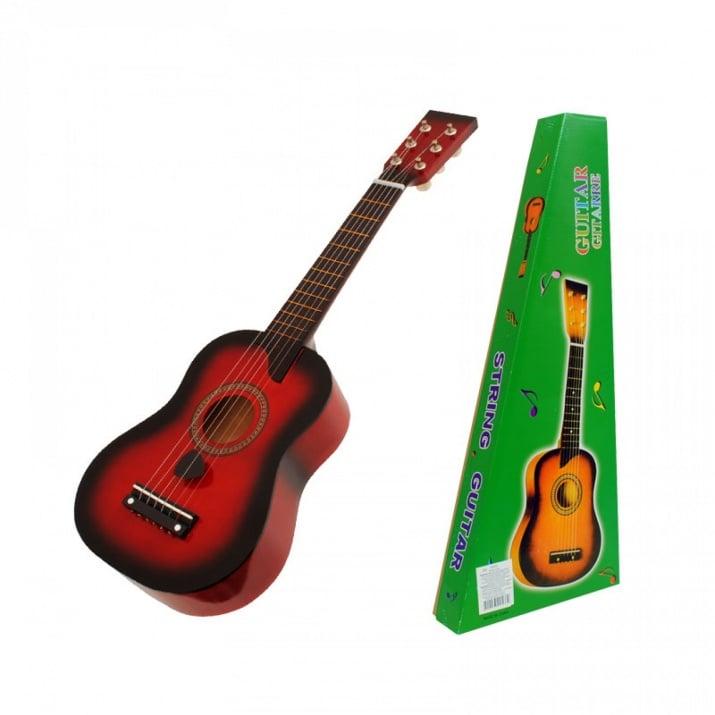 Китара с метални струни /дърво/ Китара с метални струни /червен/