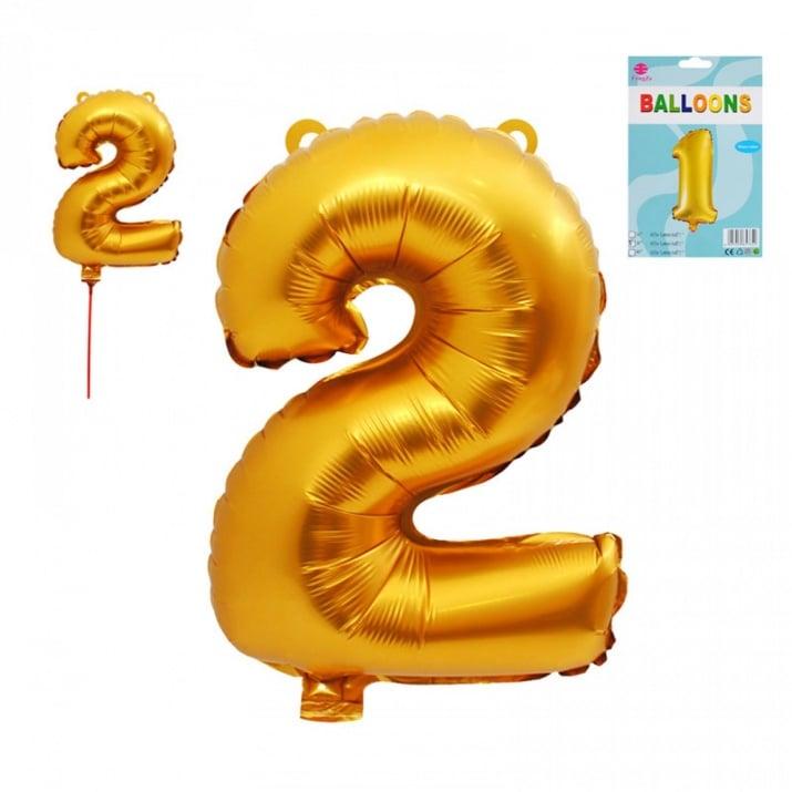Балони - Цифри /фолио/ Балон - Цифра 2