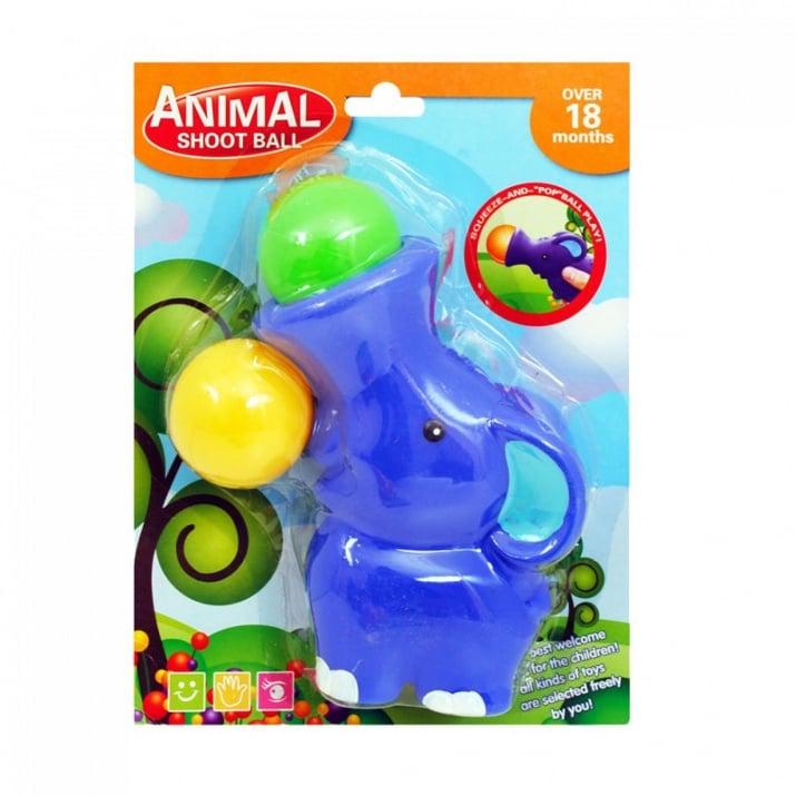Животинка с топки за изстрелване Животинка с топки за изстрелване /слонче/