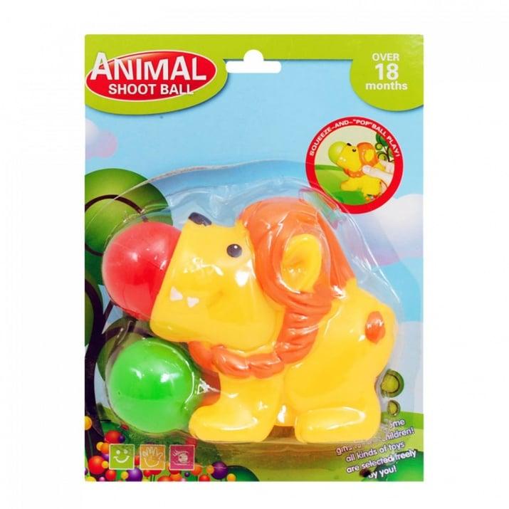 Животинка с топки за изстрелване Животинка с топки за изстрелване /лъвче/