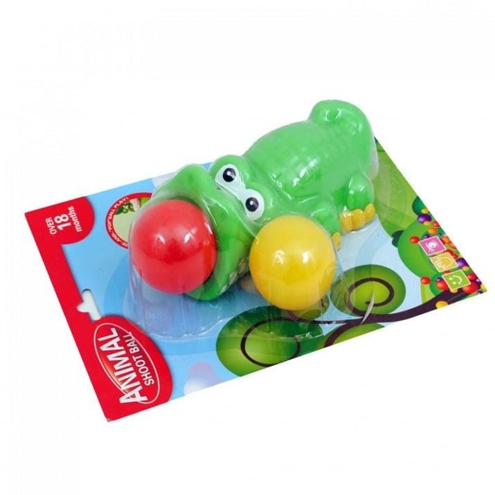 Животинка с топки за изстрелване Животинка с топки за изстрелване /крокодилче/