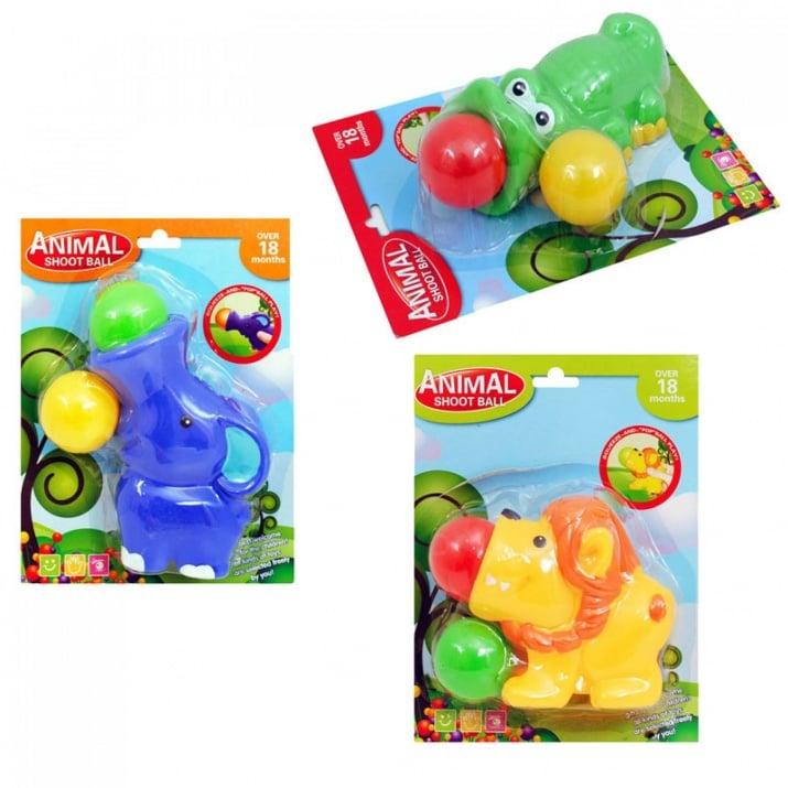 Животинка с топки за изстрелване