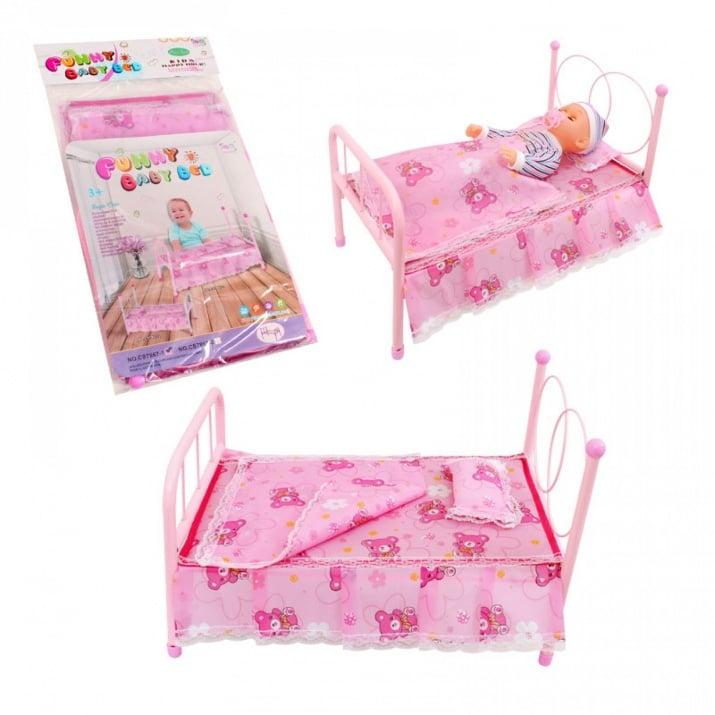 Метално легло за кукла