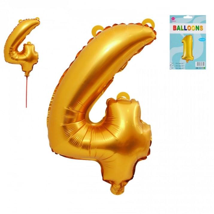 Балони - Цифри /фолио/ Балон - Цифра 4