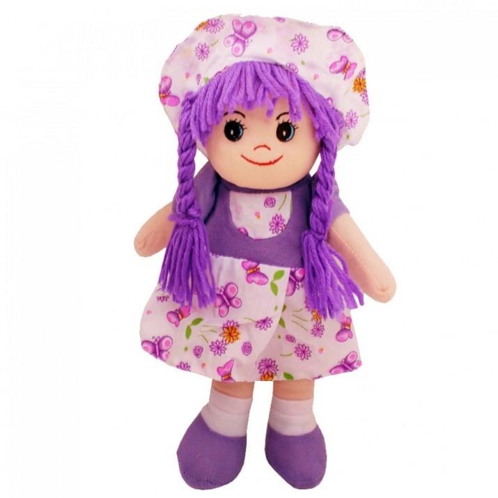 Кукла /текстил/  Кукла / текстил / - лилав
