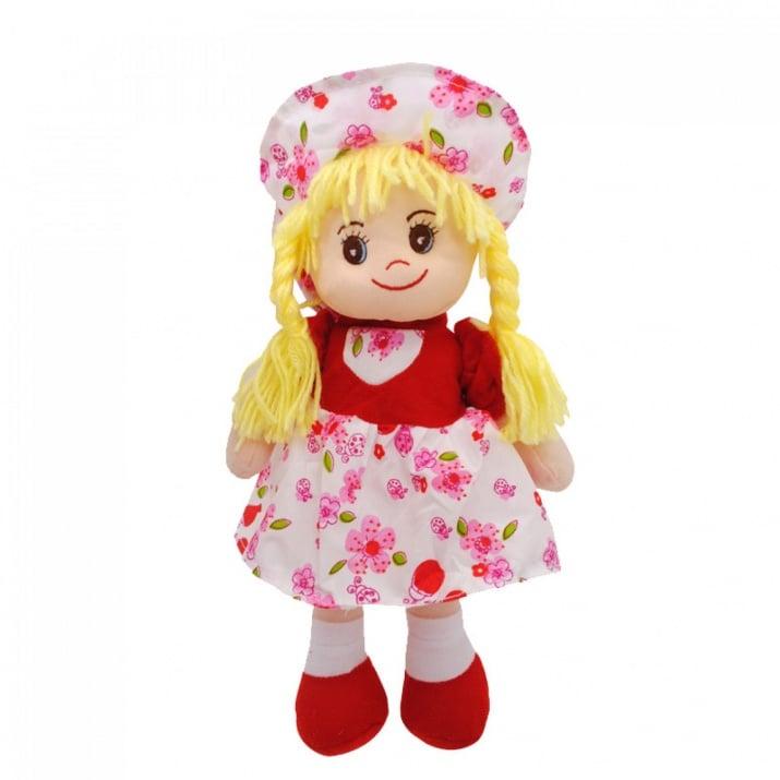 Кукла /текстил/  Кукла / текстил / - червен